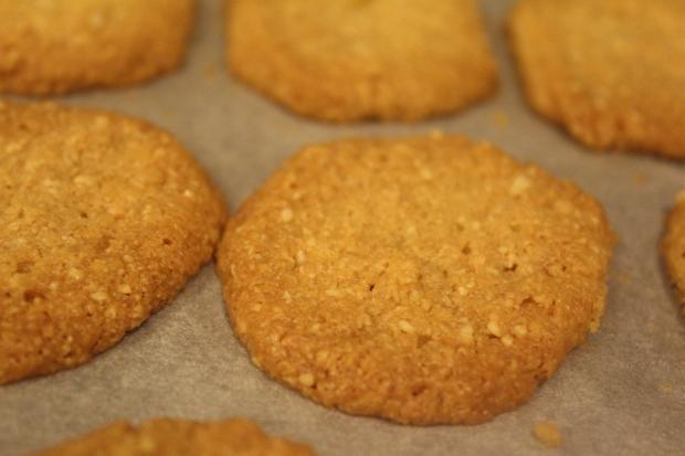 עוגיות מוכנות מצטננות בתבנית